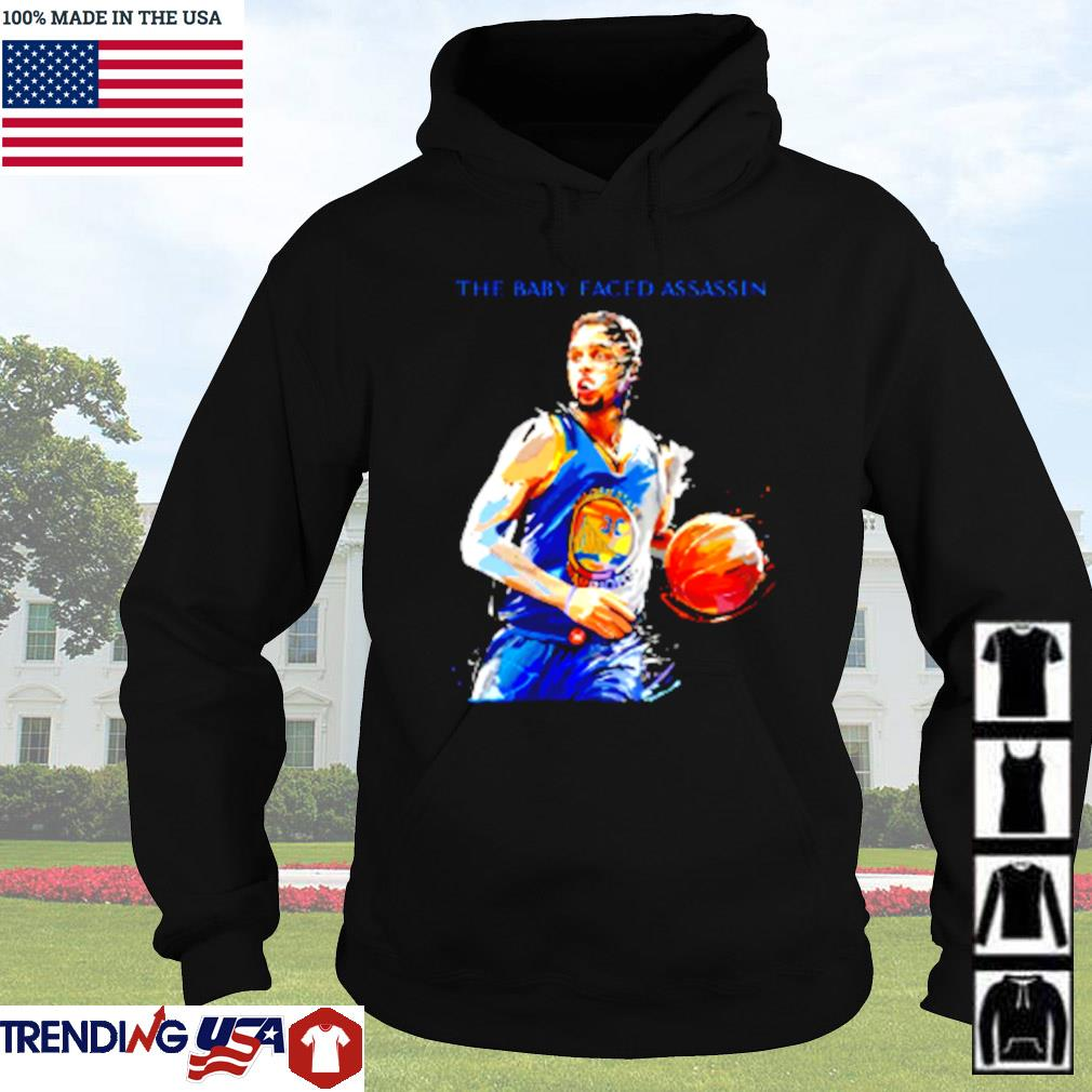 Golden State Warriors Stephen Curry the baby faced assassin s Hoodie