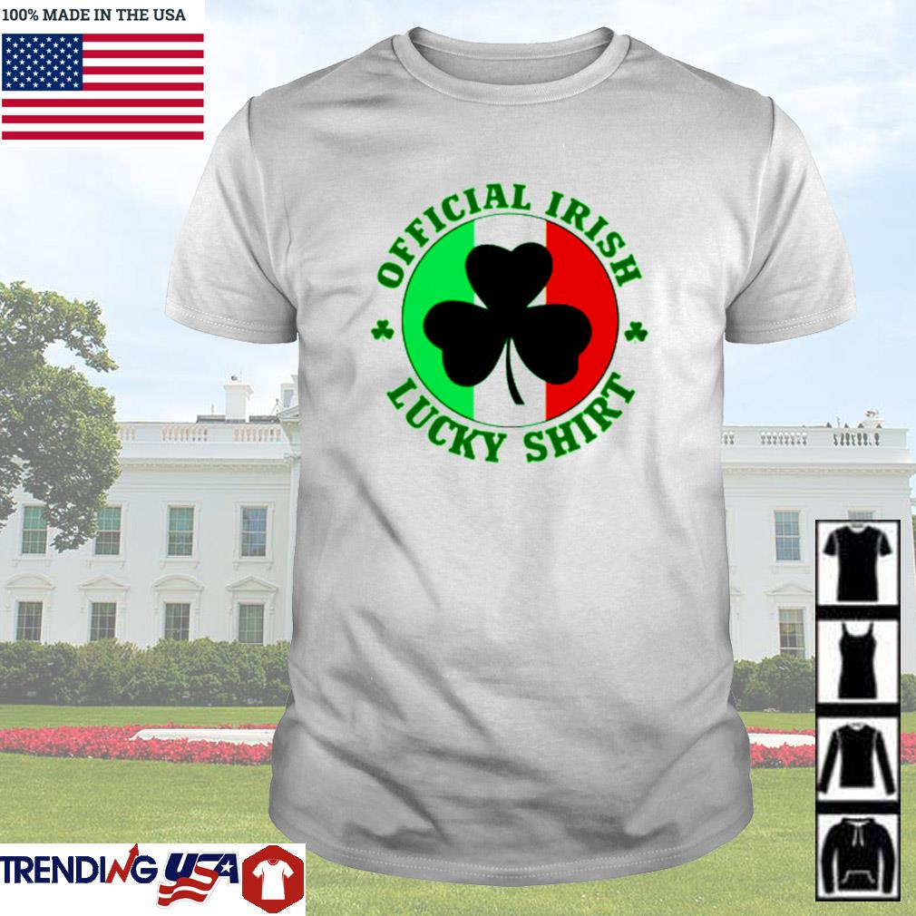 Official Irish lucky St. Patrick's day shirt