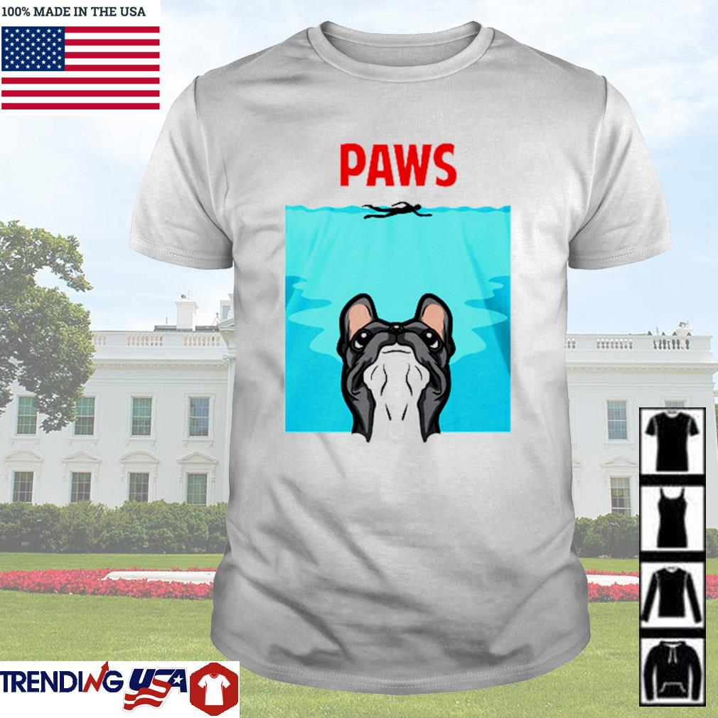 Paws french bulldog shirt