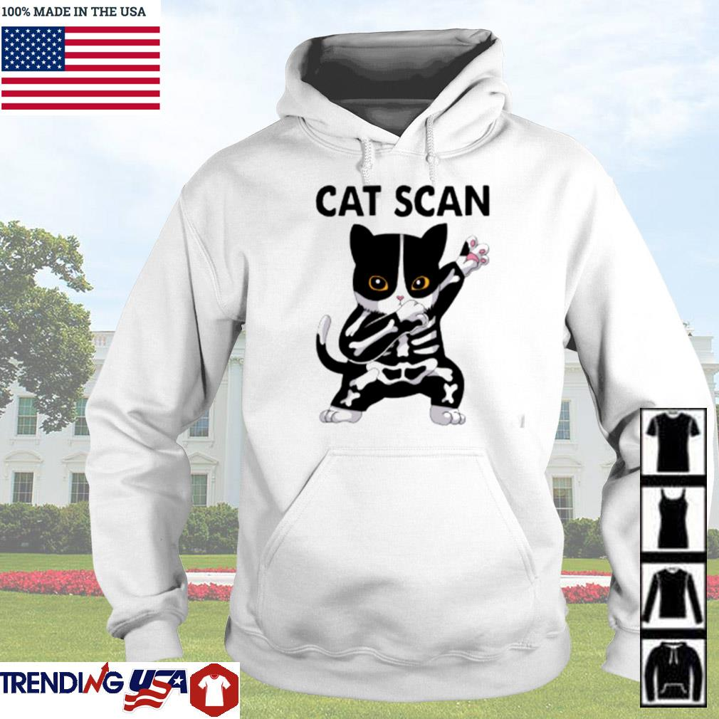 X-Ray cat scan s Hoodie