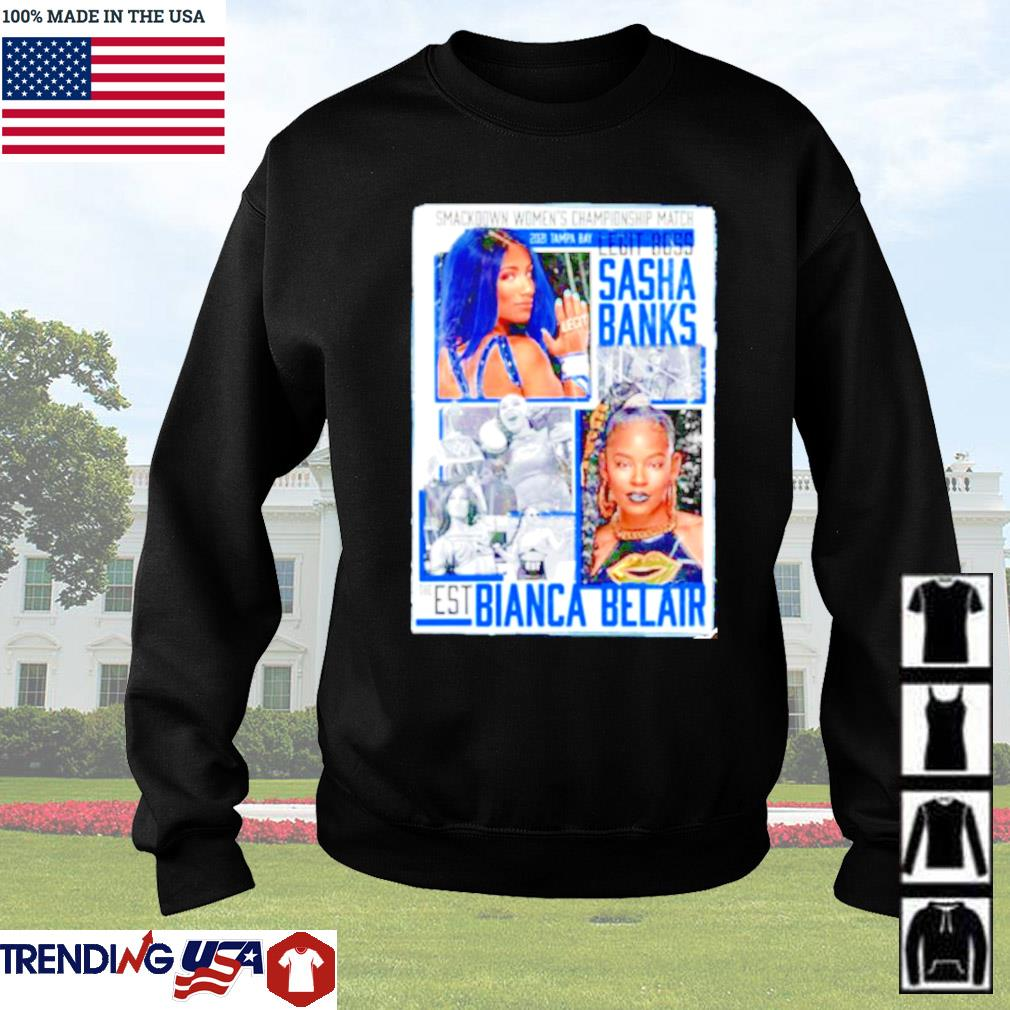 WrestleMania 37 Sasha Banks vs Bianca Belair Match up Sweater
