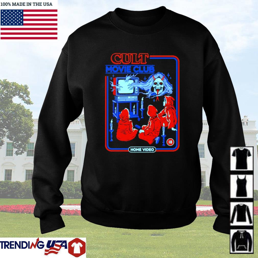Cult movie club home video Sweater