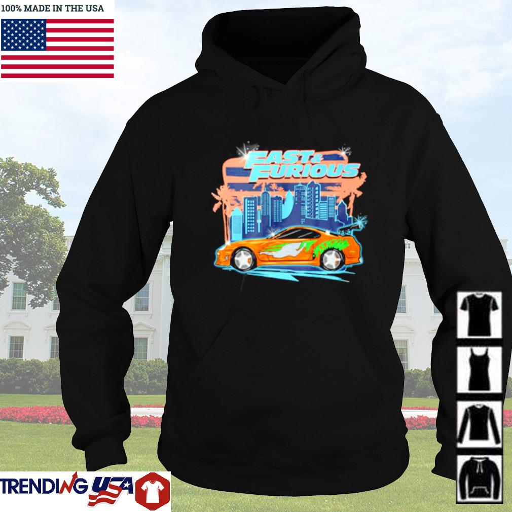 Fast and Furious car racing street Hoodie