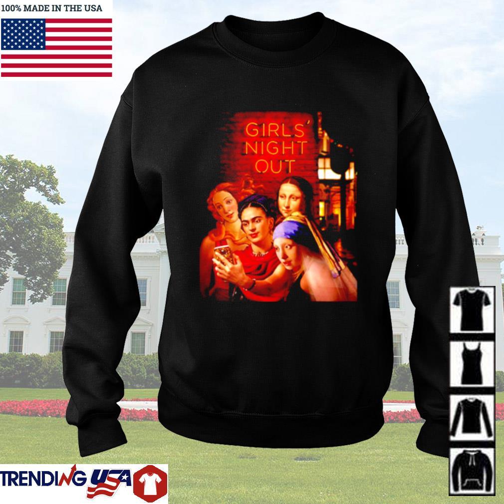 Girls Night Out Frida Kahlo Mona Lisa Sweater