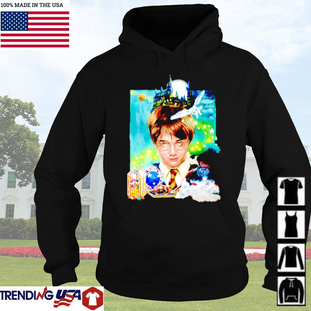 Harry Potter Night house and moon Hoodie