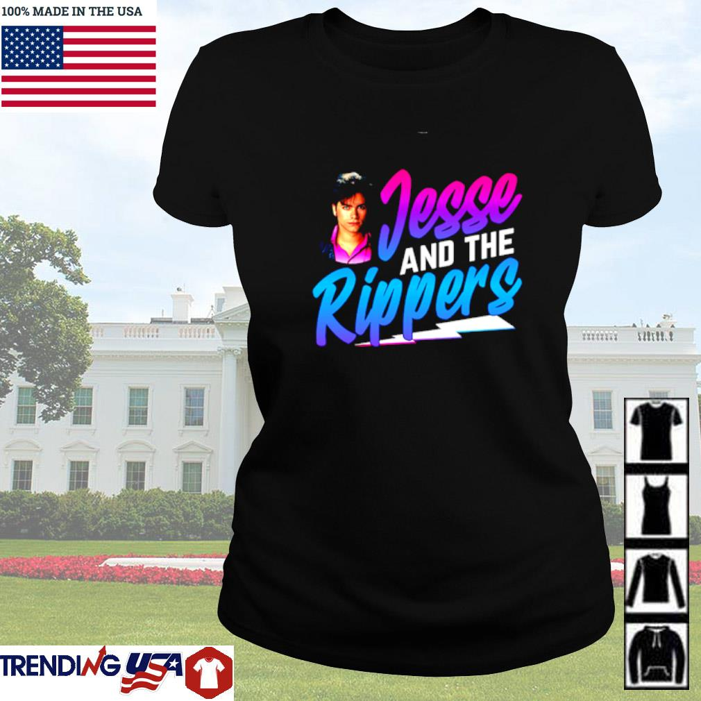 Jesse and the Rippers Ladies tee