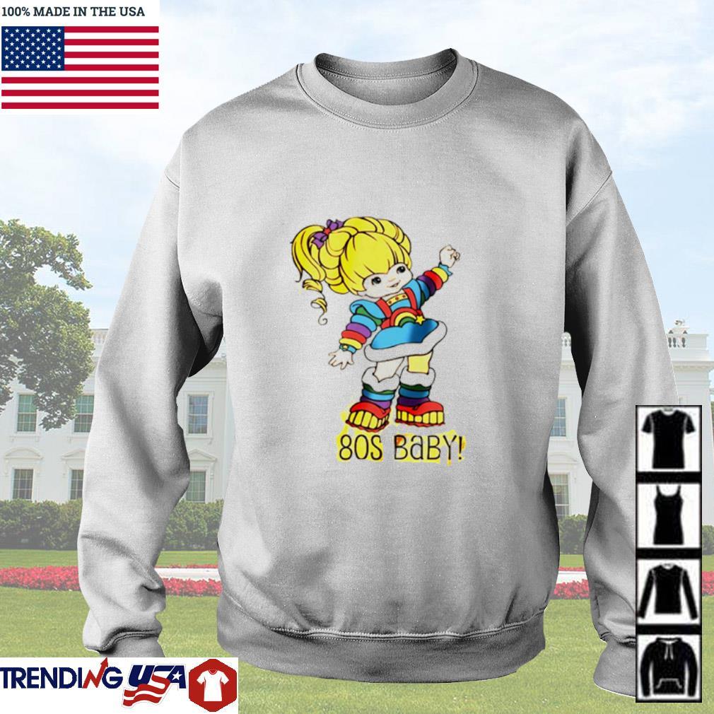Rainbow Brite 80'S baby Sweater