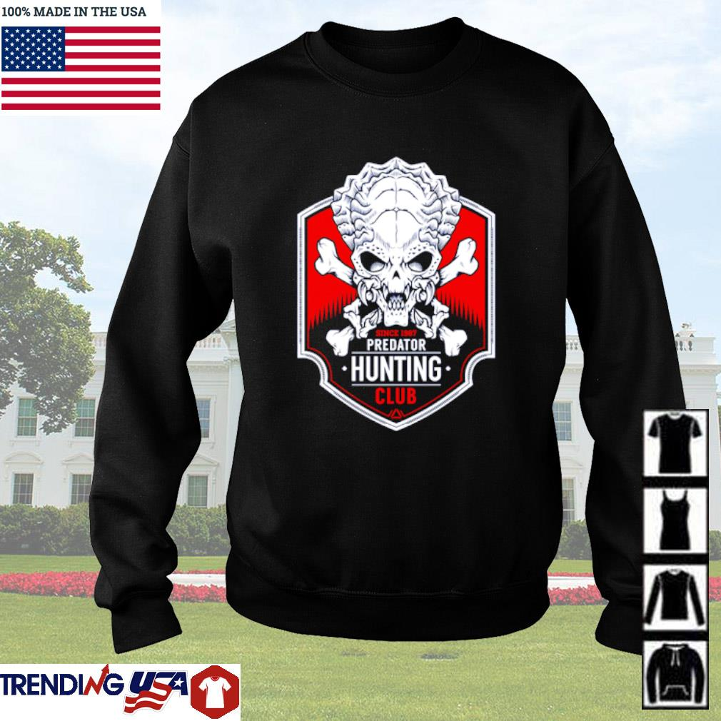 Since 1987 predator hunting club Sweater