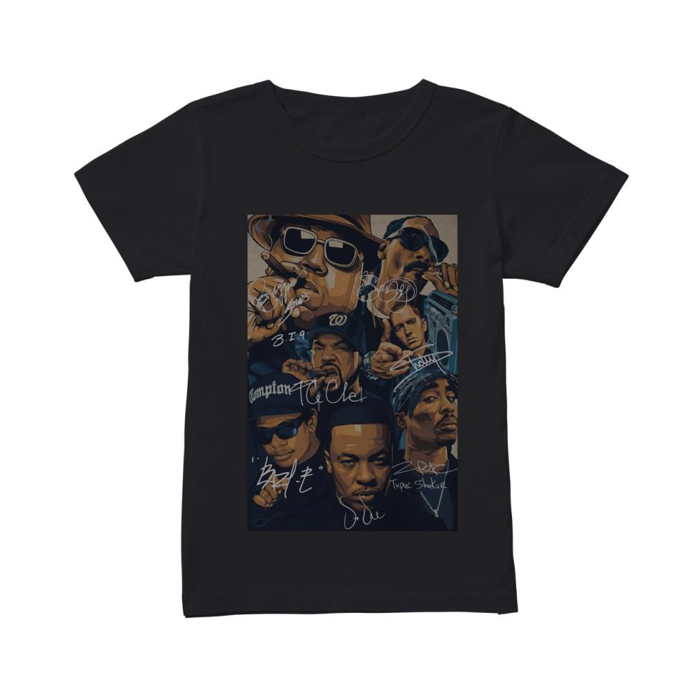 Old school rappers signature shirt