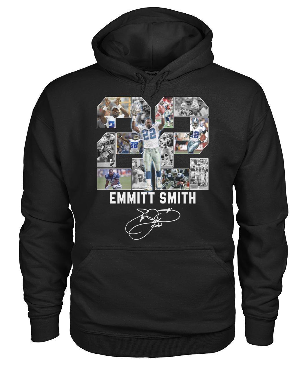 22 Emmitt Smith signatures shirt