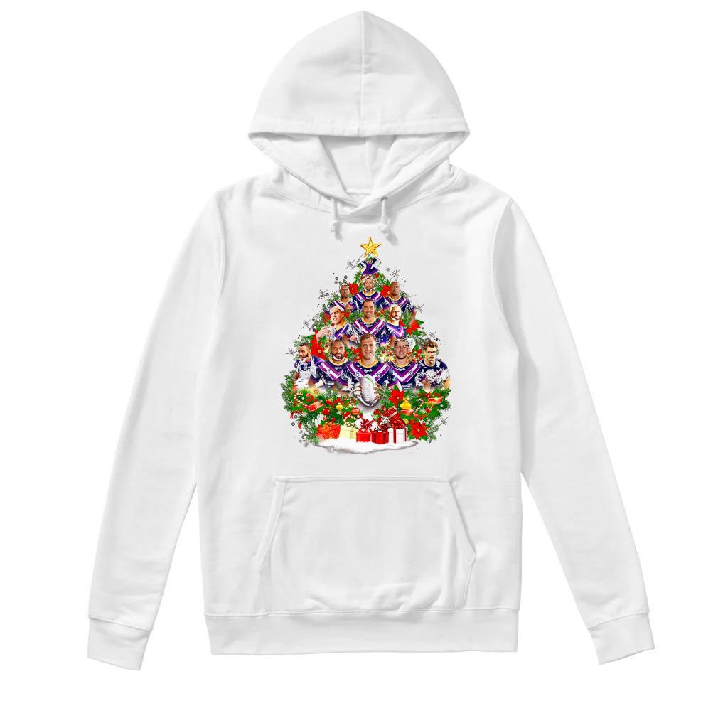 Christmas Trees Melbourne: Melbourne Storm Team Players Christmas Tree Shirt