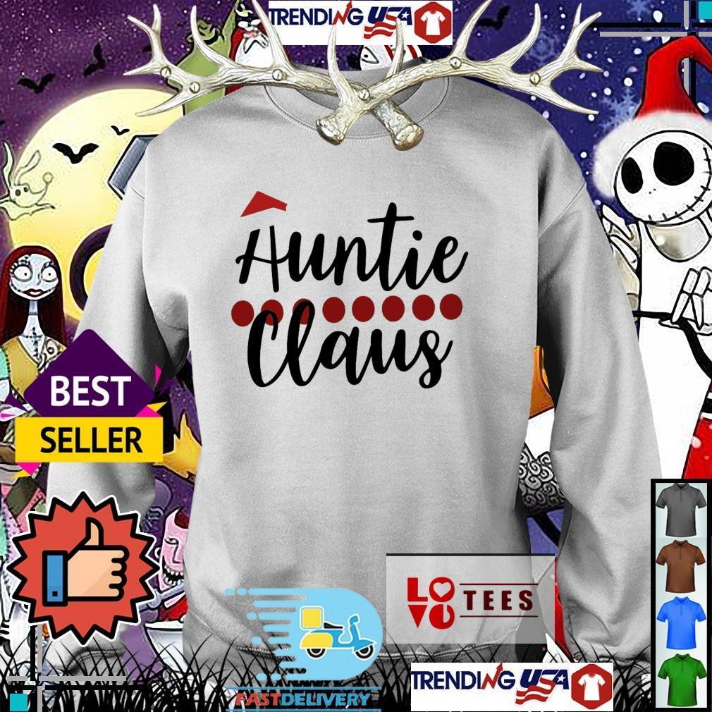 Auntie Claus Santa Christmas Sweater