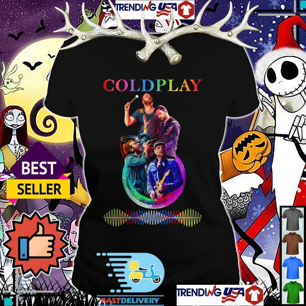 Coldplay a head full of dreams Ladies Tee