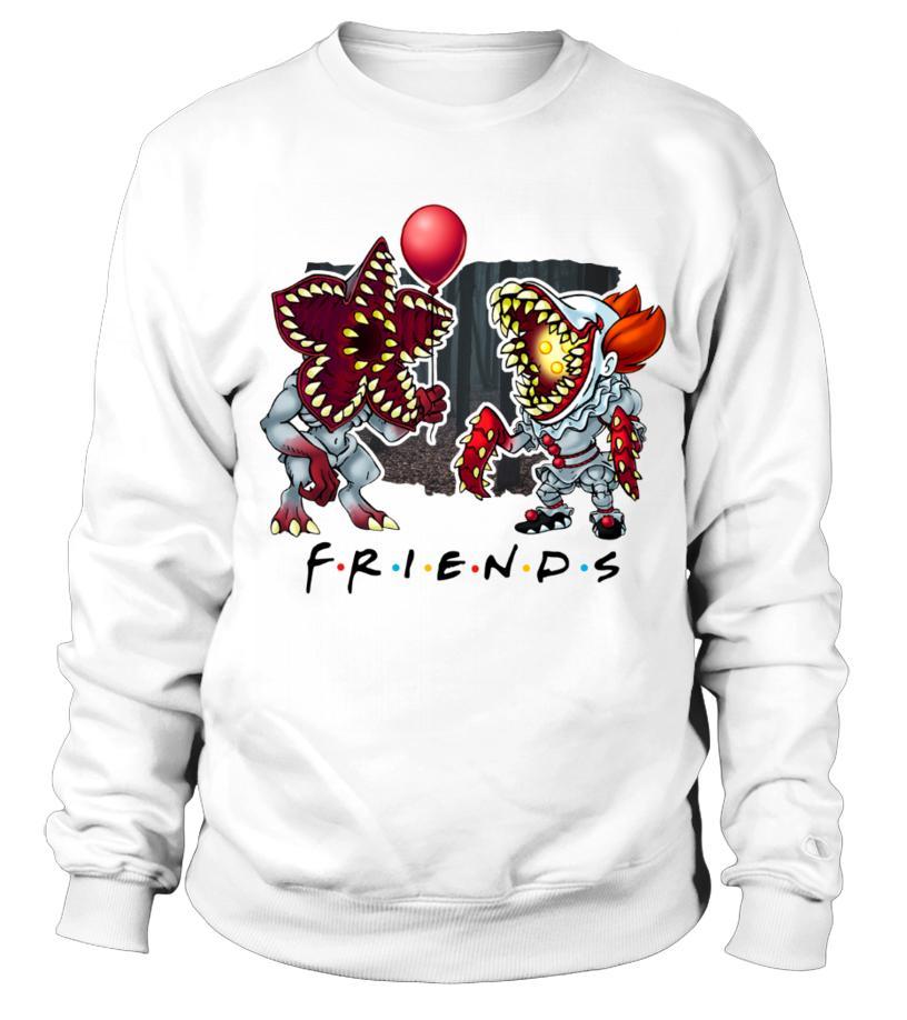 Demogorgon Pennywise IT Friends Sweater