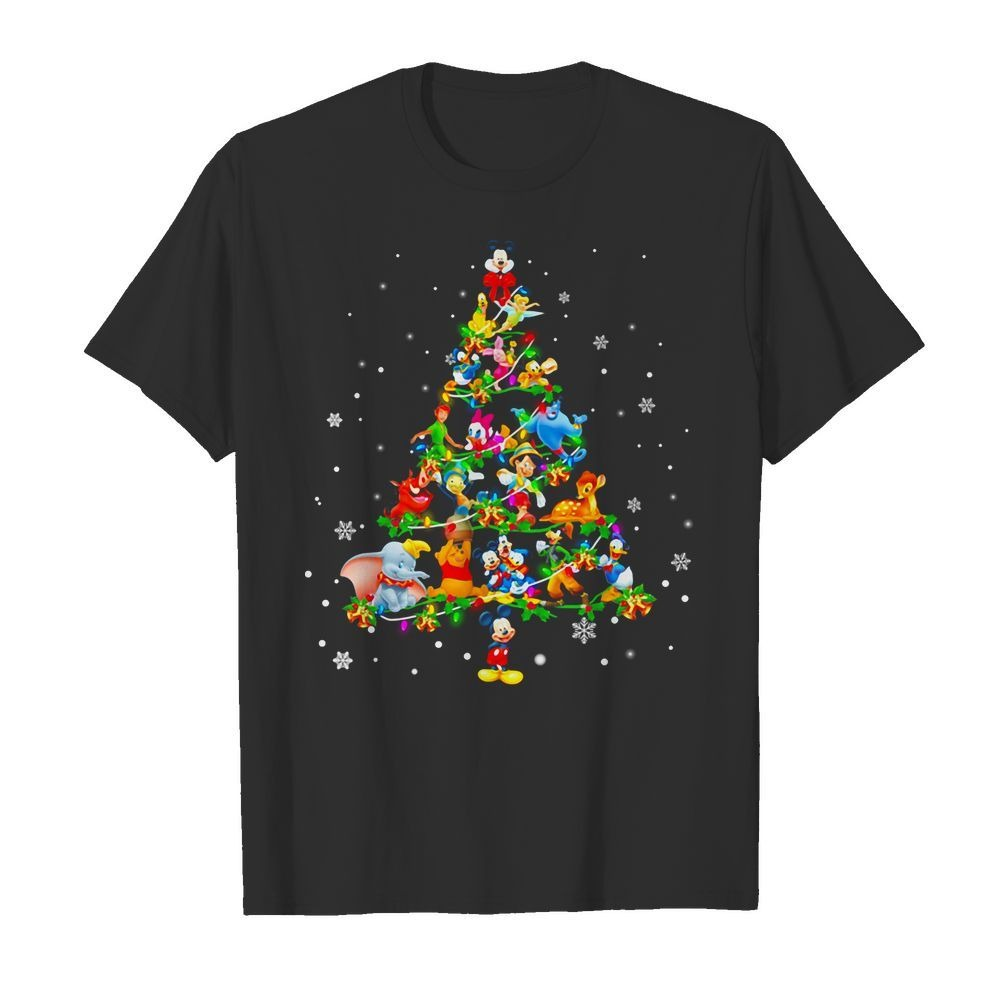 Disney Christmas Tree shirt