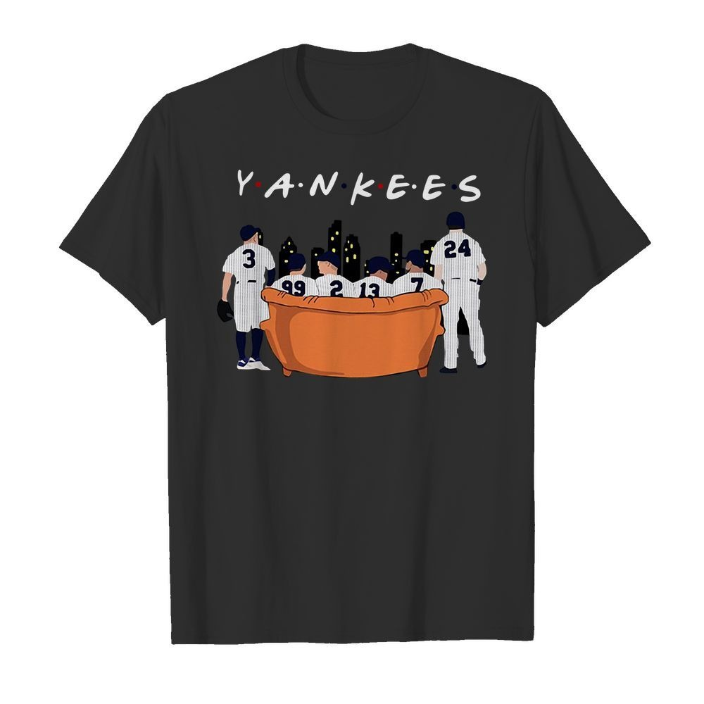 New York Yankees Friends TV Show shirt
