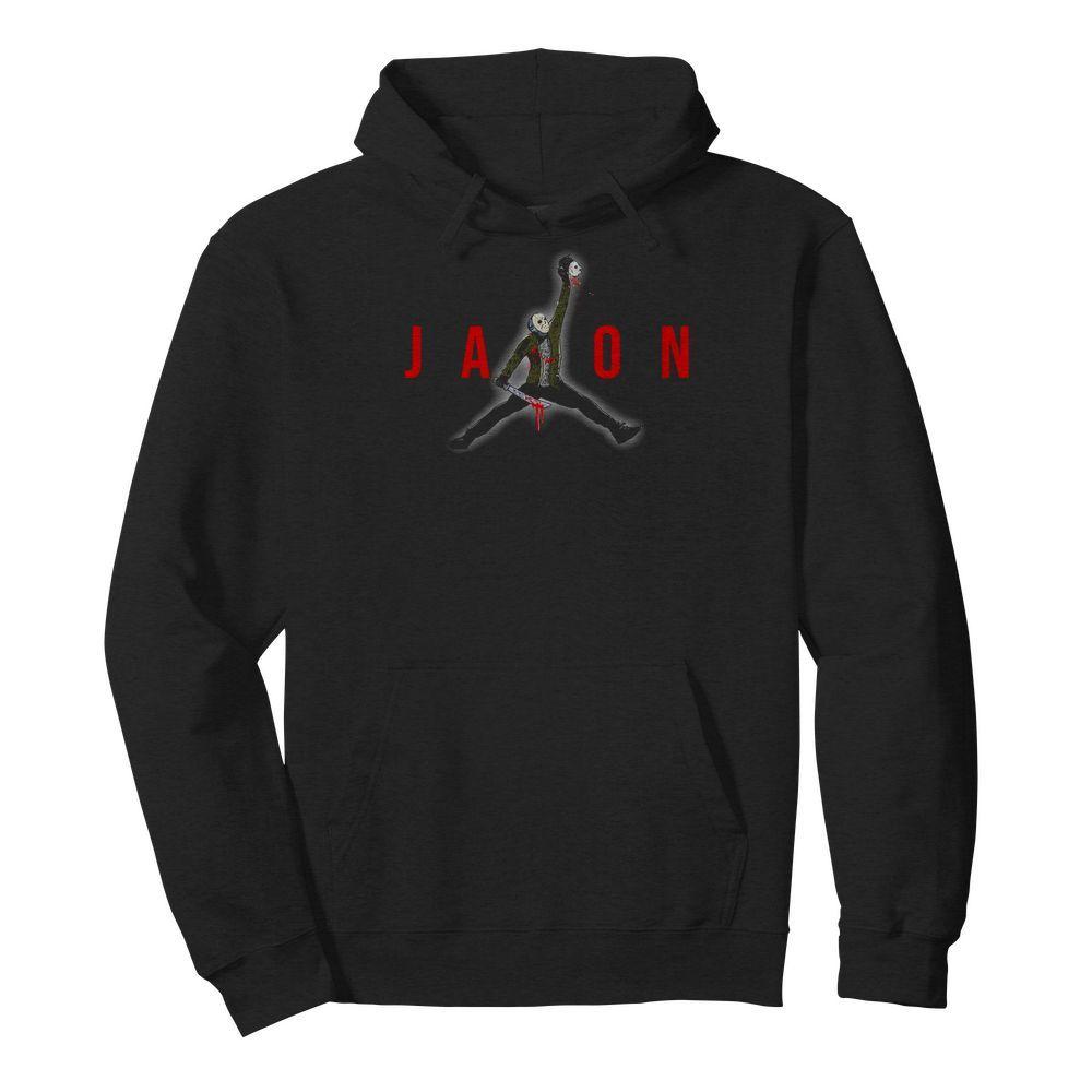 Official Jason Voorhees Air Jordan Hoodie