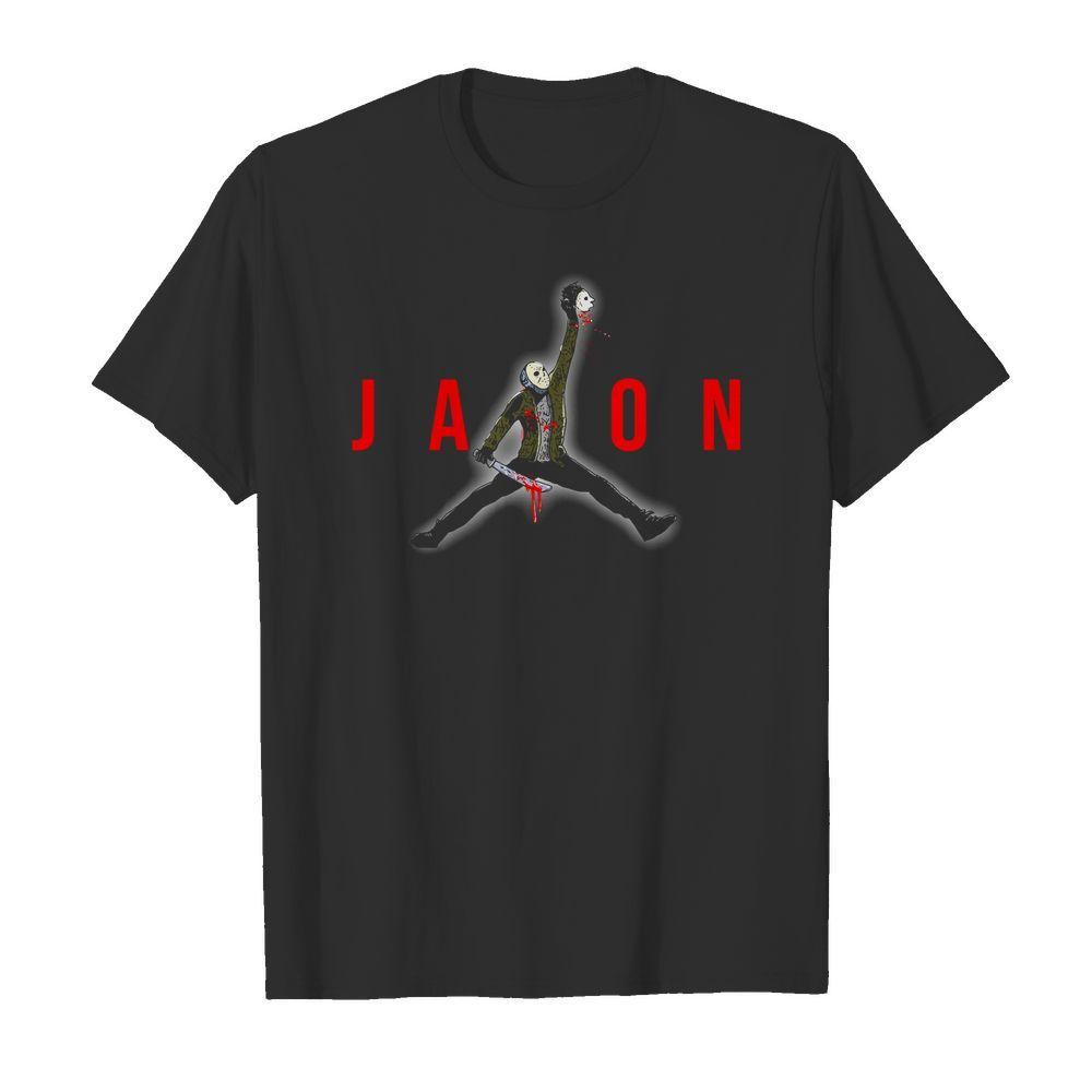 Official Jason Voorhees Air Jordan shirt