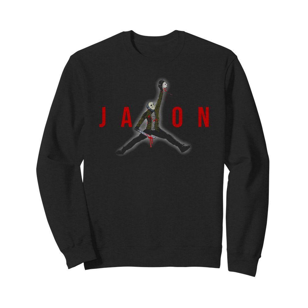 Official Jason Voorhees Air Jordan Sweater