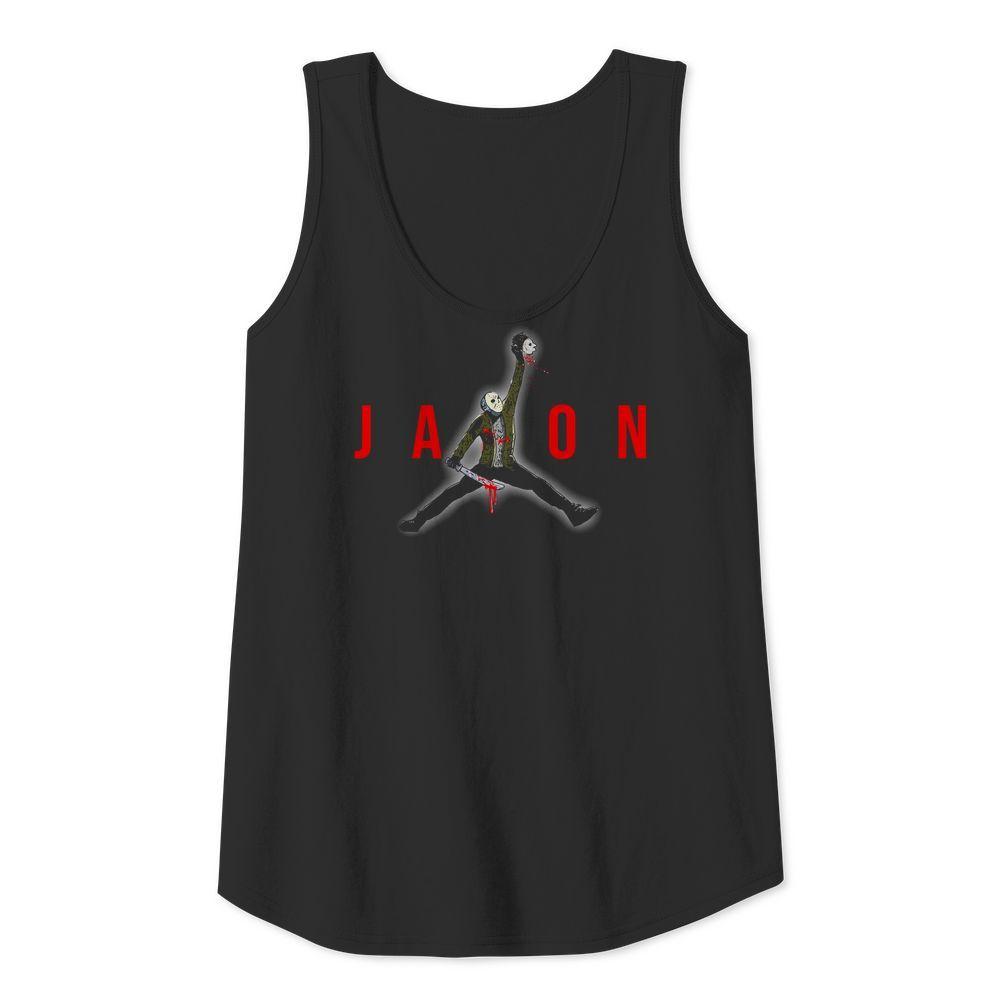 Official Jason Voorhees Air Jordan Tank top