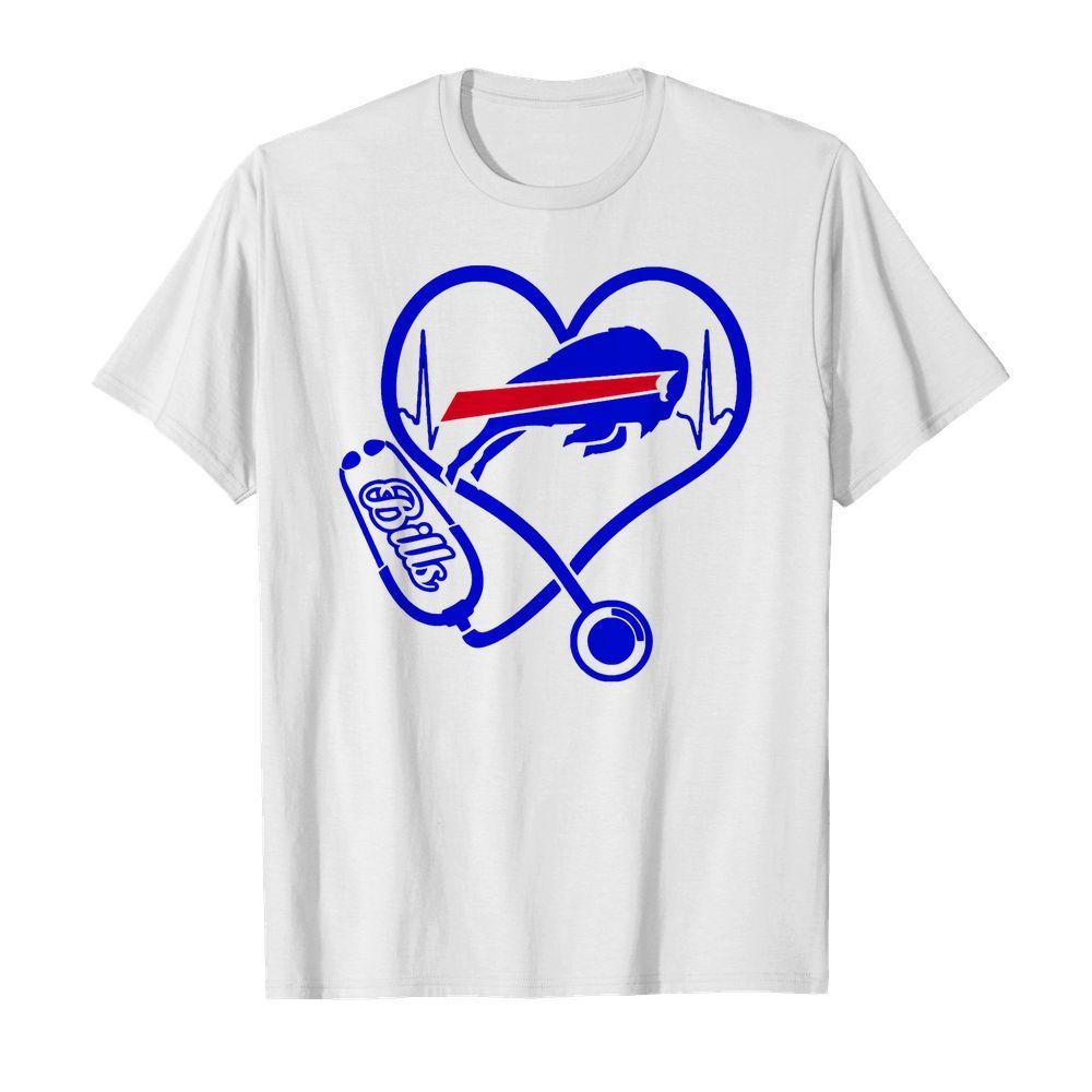 Official Nurse Heart Buffalo Bills shirt