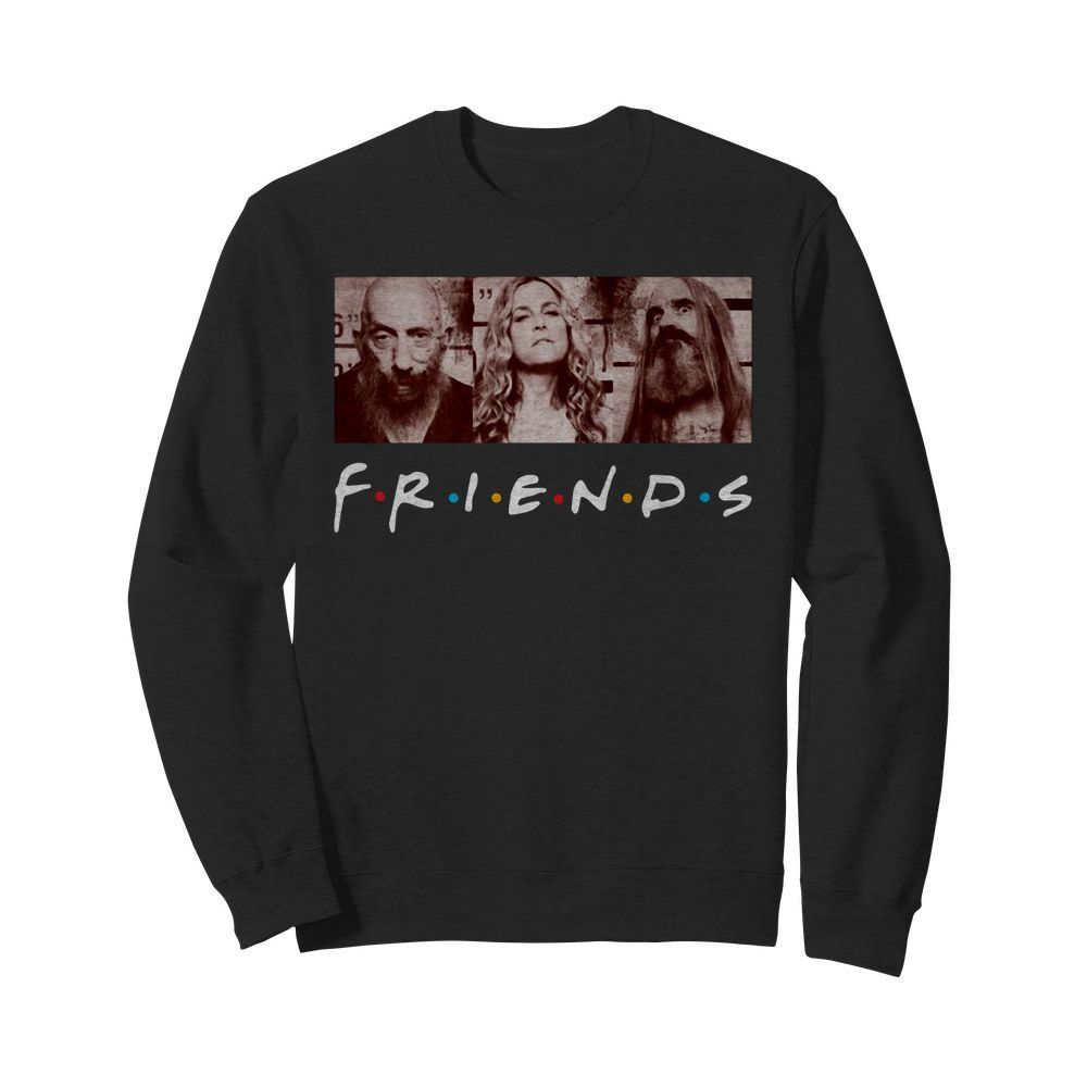 Rob Zombie 3 from hell Friends TV Show Sweater