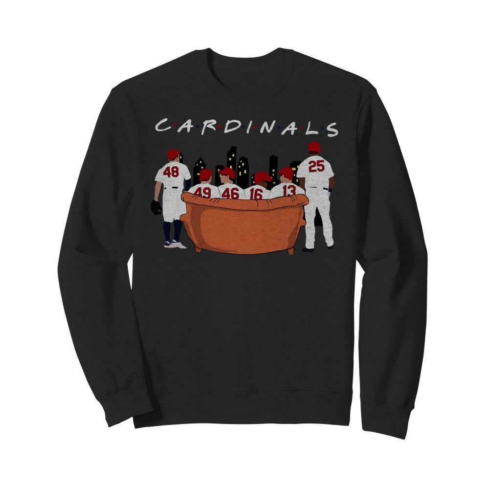 St. Louis Cardinals Friends TV Show Sweater