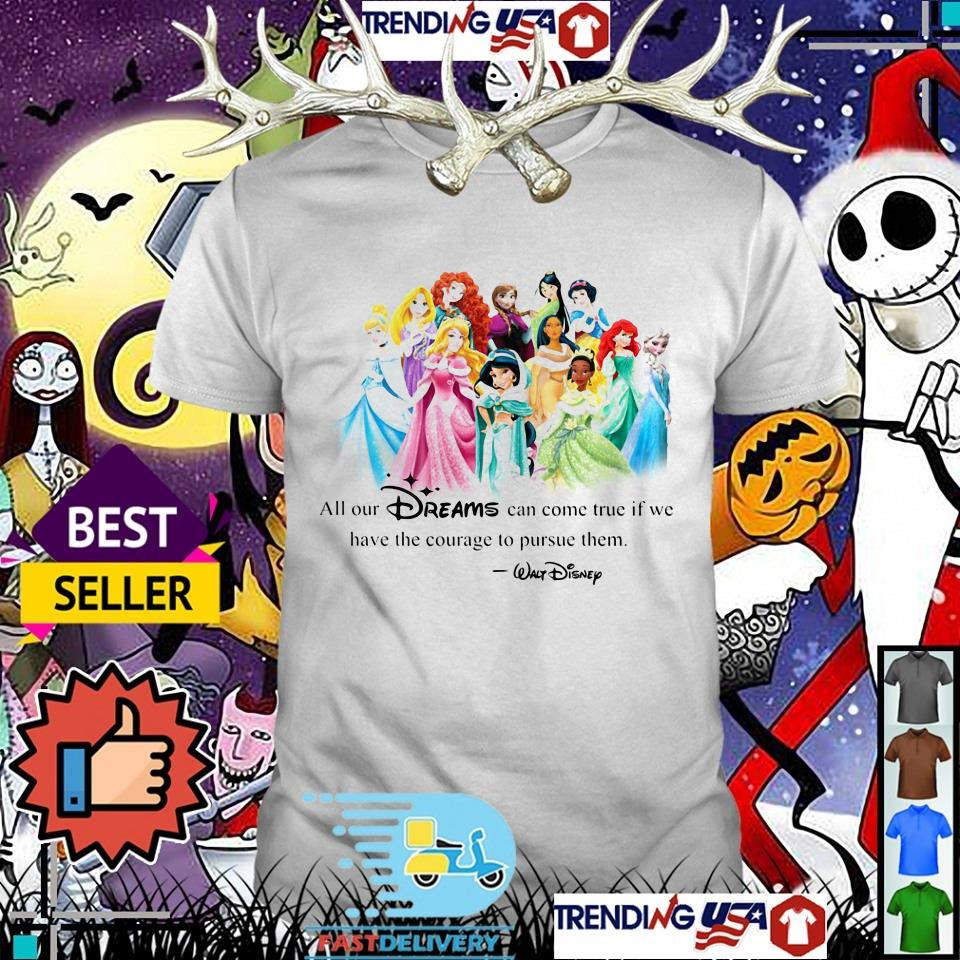 All Disney shirt
