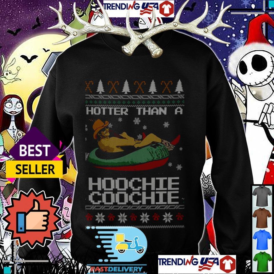 Alan Jackson hotter than a Hoochie Coochie Christmas sweater