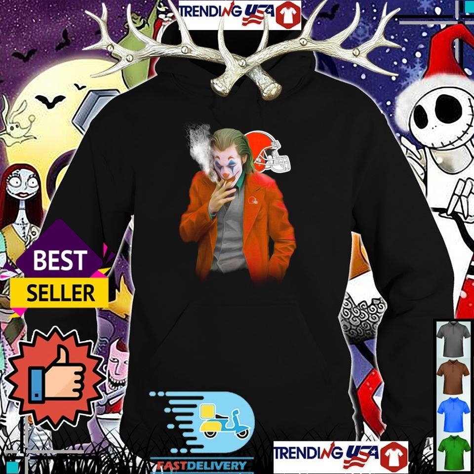 Joker Joaquin Phoenix Cleveland Browns shirt