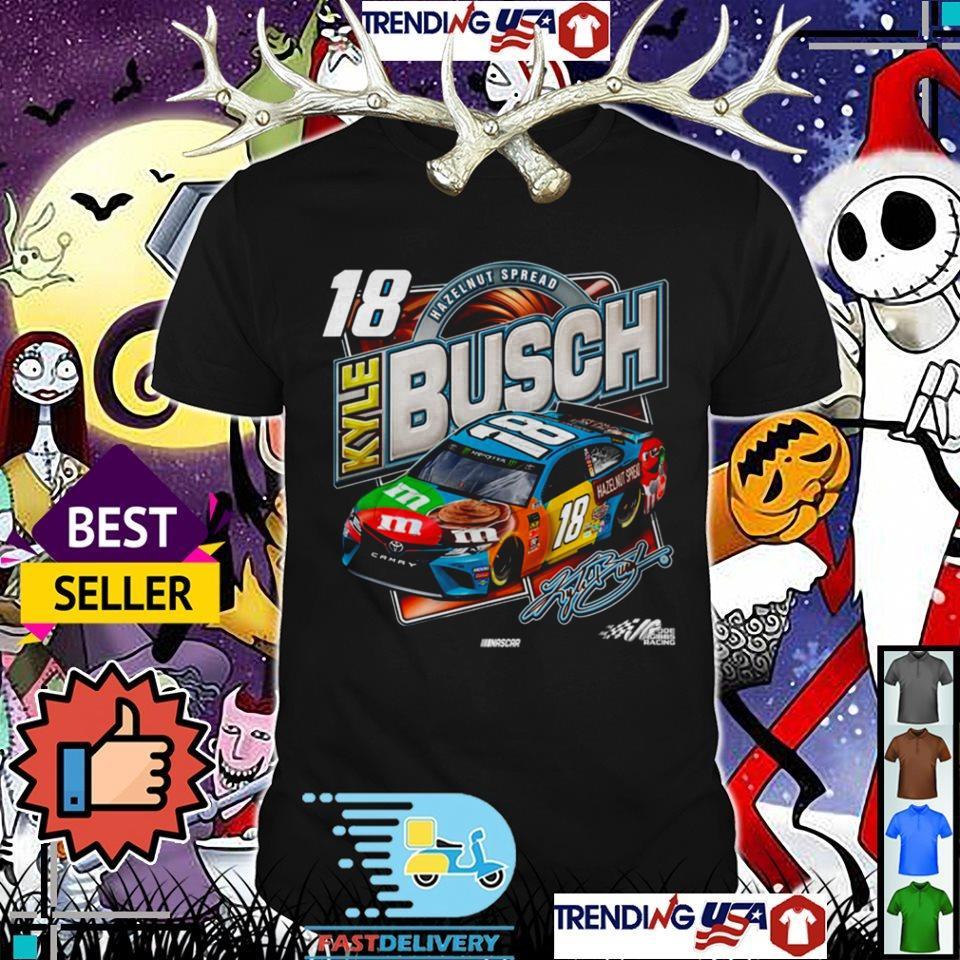 18 Kyle Busch Hazelnut Spread signature shirt