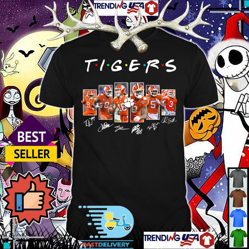 Clemson Tigers Friends TV Show players signature shirt