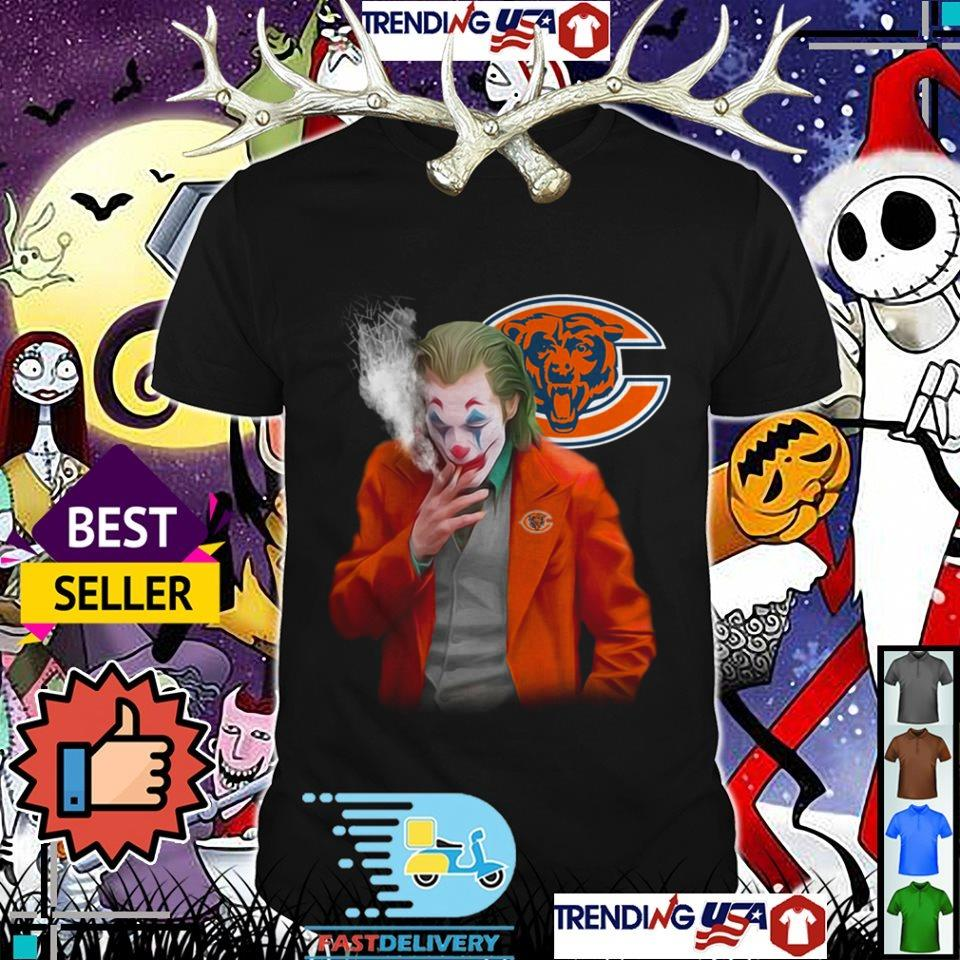 Joker Joaquin Phoenix Chicago Bears shirt