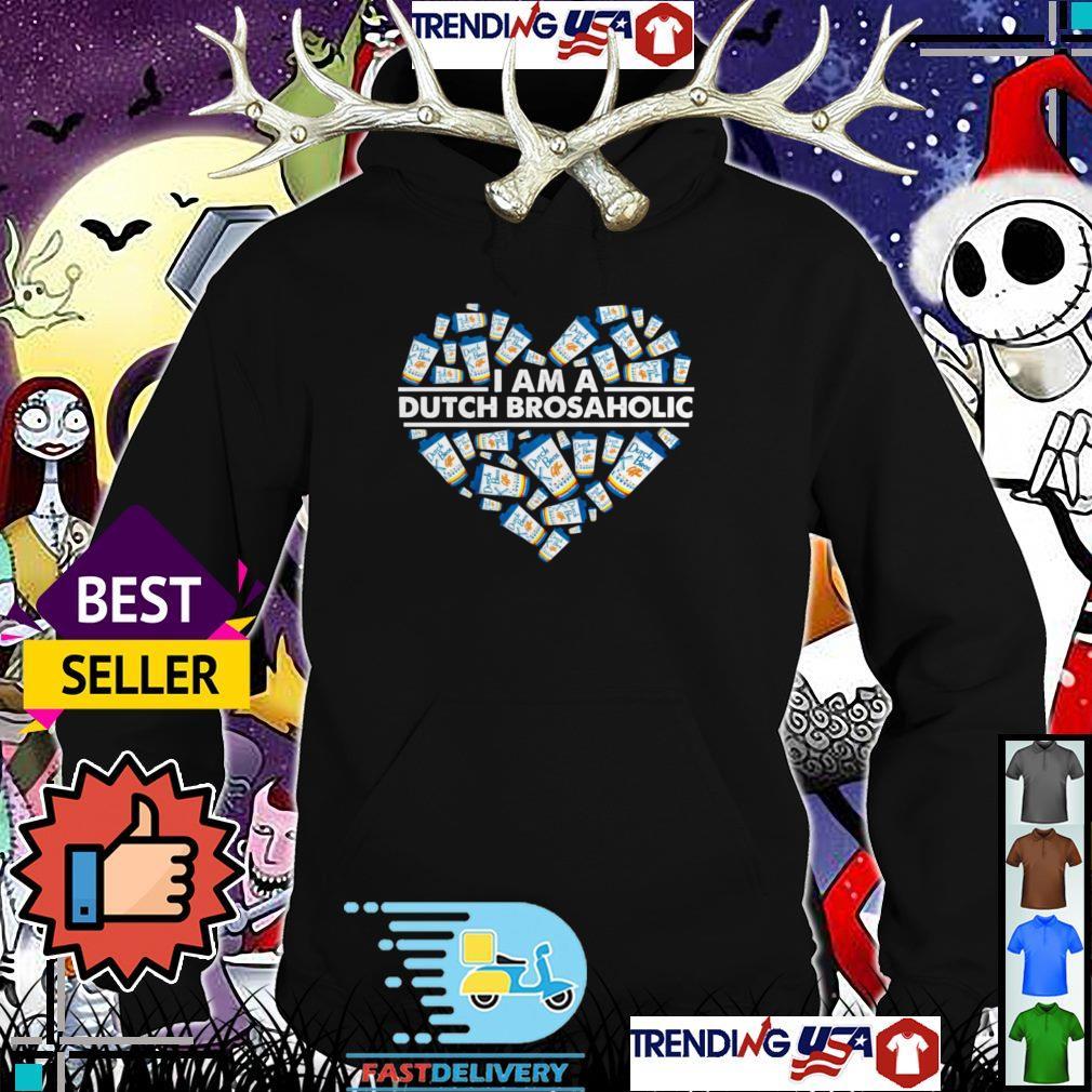 Heart I am a Dutch Bros aholic shirt