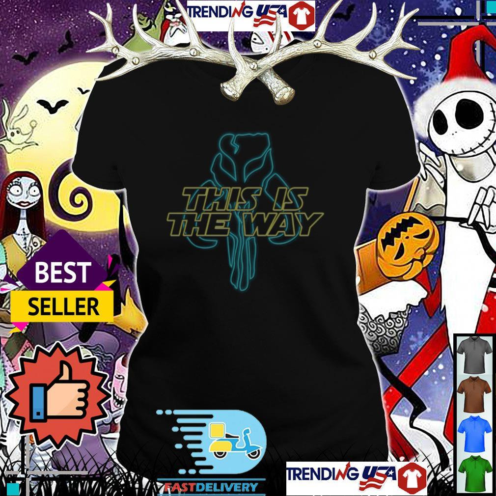 Star Wars Mandalorian Inspired Skull This is the way shirt