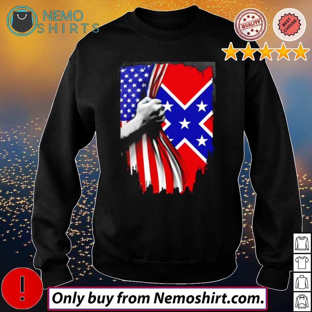 Confederate States of America s Sweatshirt Black
