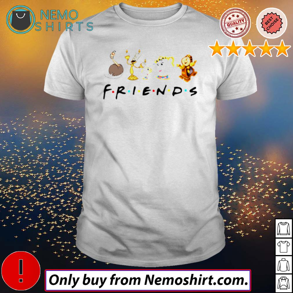 Disney Beauty and the beast friends shirt