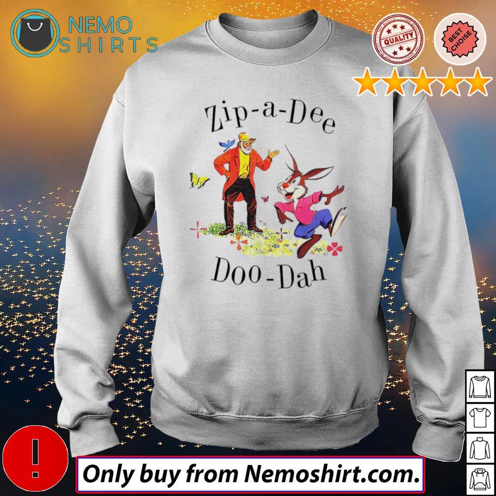 Disney Splash Mountain Zip-a-Dee Doo-Dah s Sweatshirt white