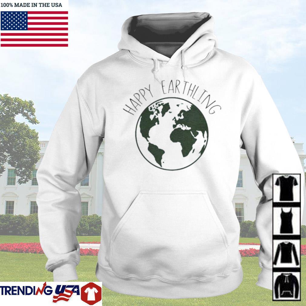 Happy Earthling Earth s Hoodie White