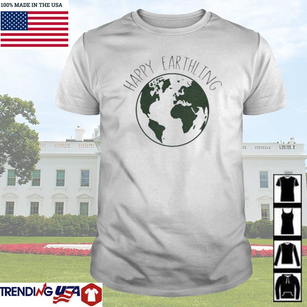 Happy Earthling Earth shirt