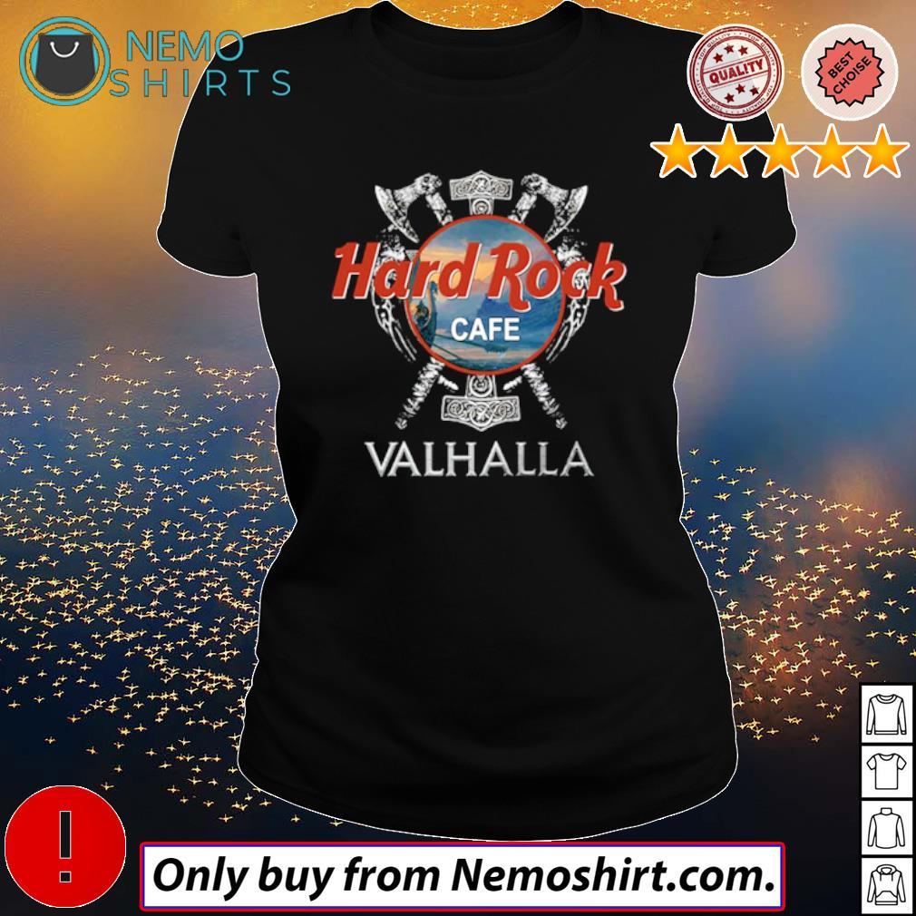 Hard Rock Cafe Valhalla Viking movie s Ladies Black