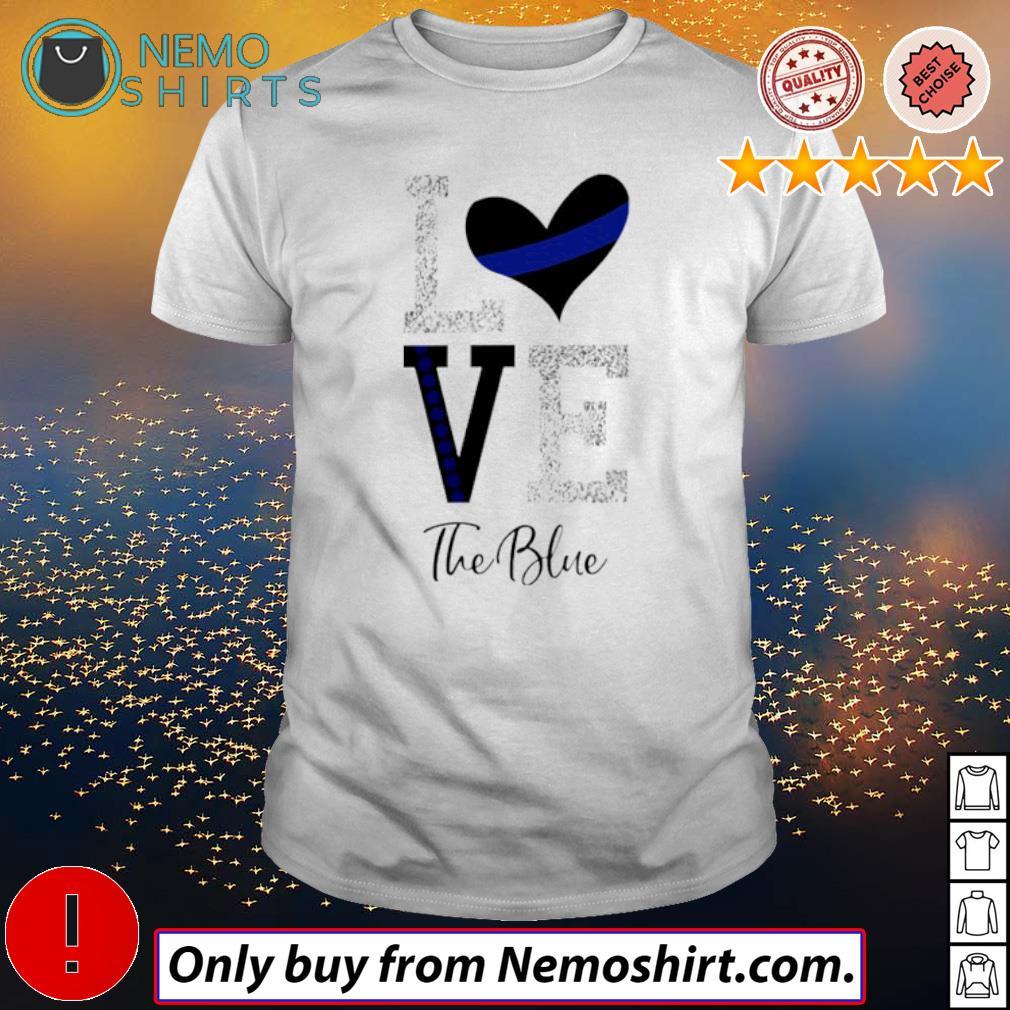 Heart Love the blue shirt