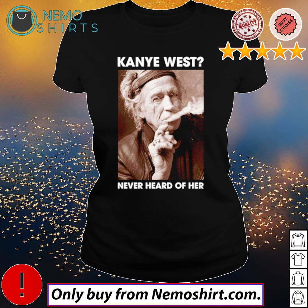Kanye west never heard of her Keith Richards s Ladies Black