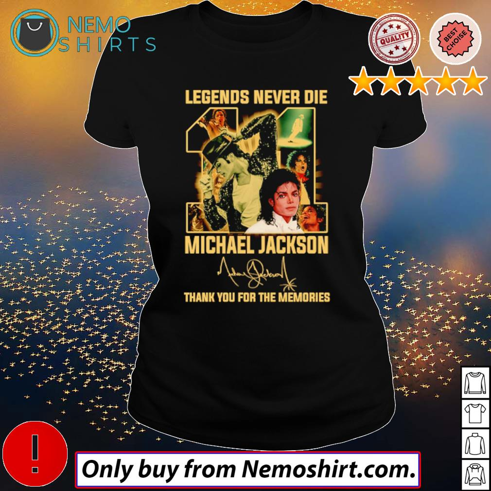 Legend never die 11 years of Michael Jackson signature s Ladies Black