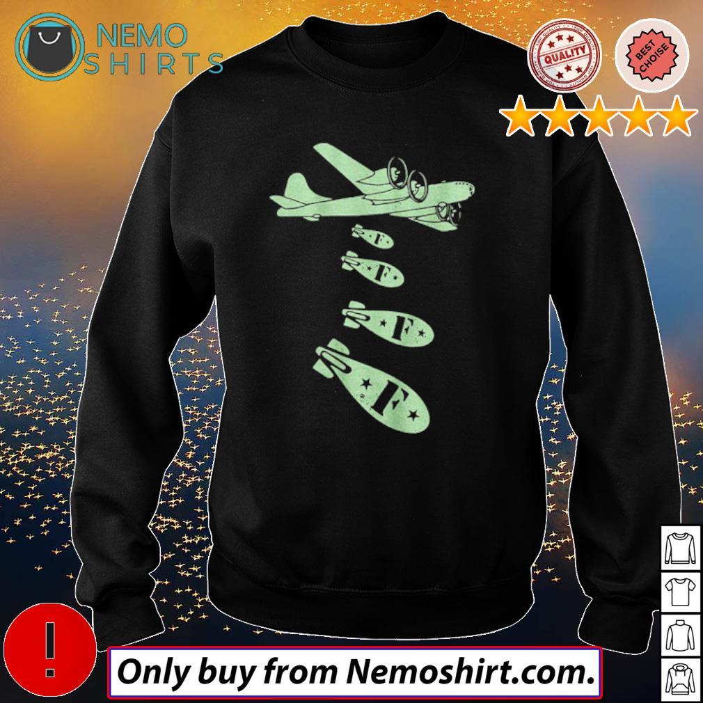 Plane dropping F-bombs s Sweatshirt Black