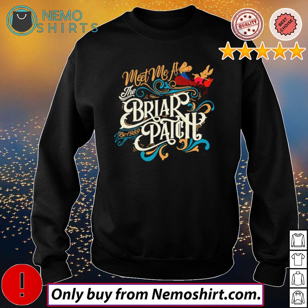 Splash Mountain Meet me at the Briar Patch est 1989 s Sweatshirt Black