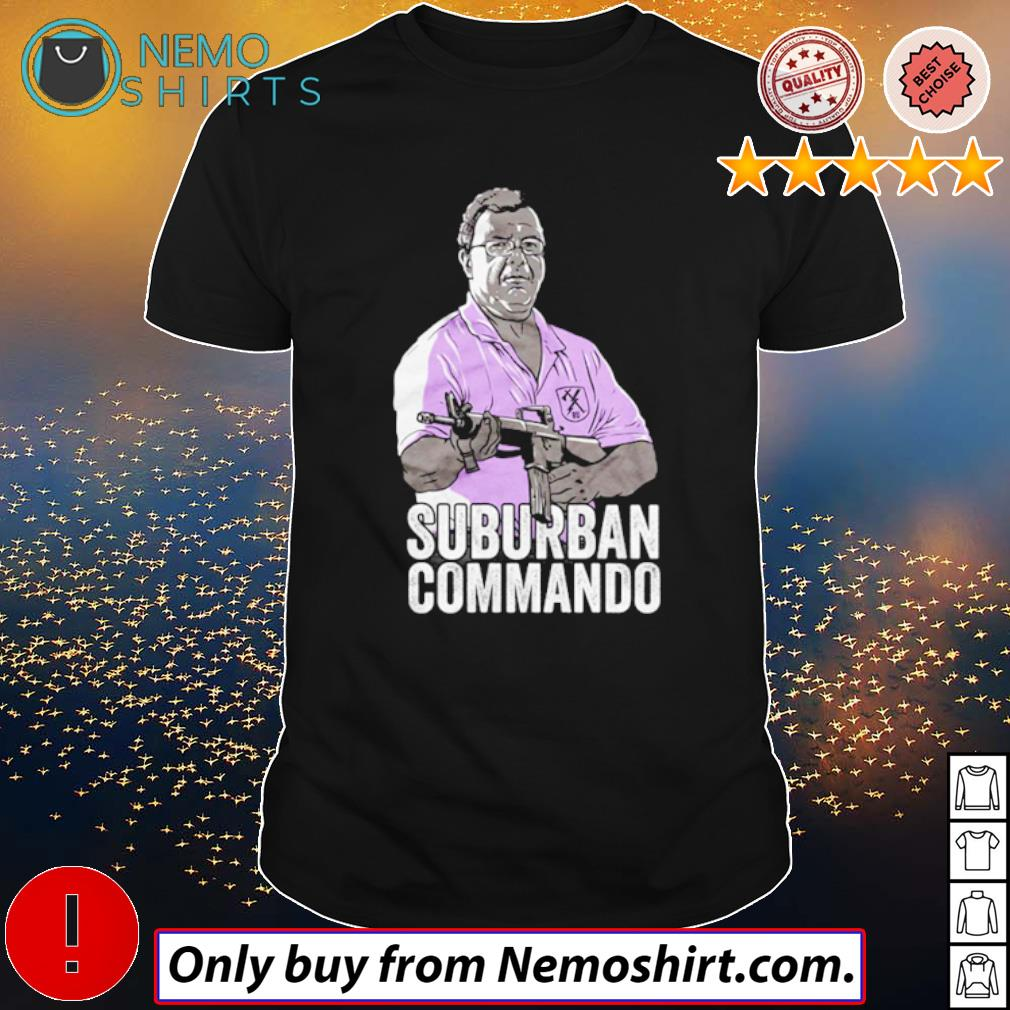 ST. Louis couple guns Suburban Commando shirt