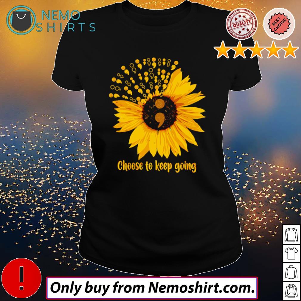 Sunflower Choose to keep going s Ladies Black