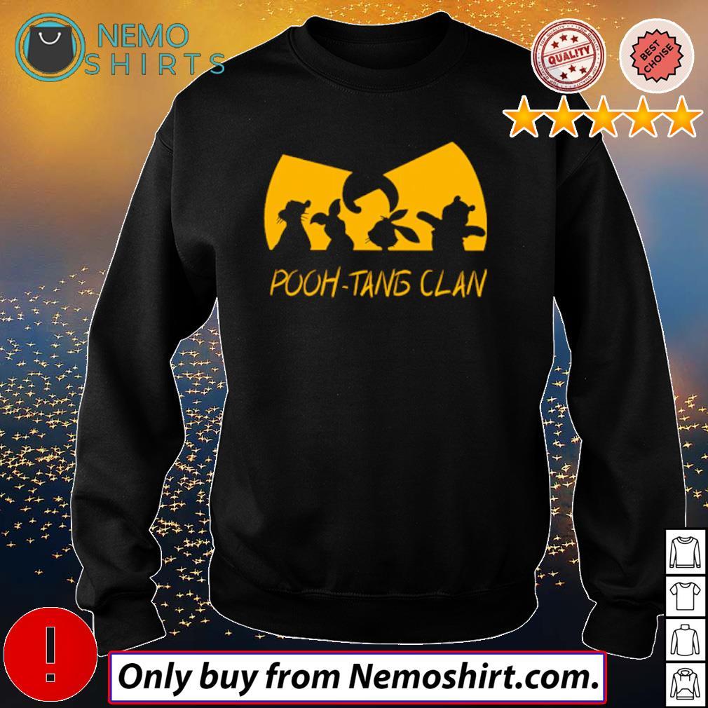 Winnie the Pooh Wu-Tang Clan Pooh-Tang Clan s Sweatshirt Black