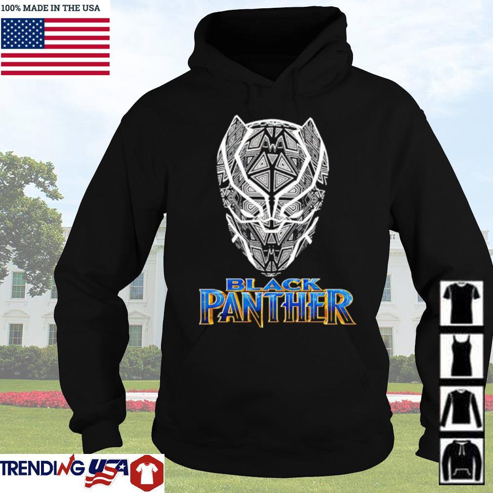 Black Panther TT Vertical s Hoodie Black